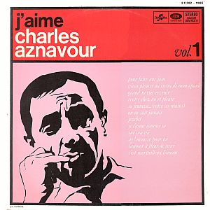 Charles Aznavour j'aime Front