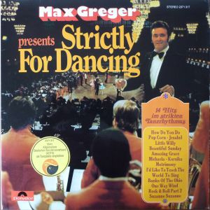 Max Greger - Strictly for Dancing (1972)